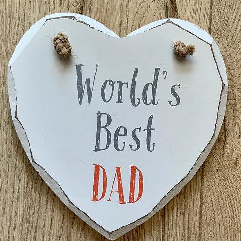 Sass & Belle DAD plaque