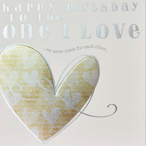 Wendy Jones Blackett - Birthday One I Love