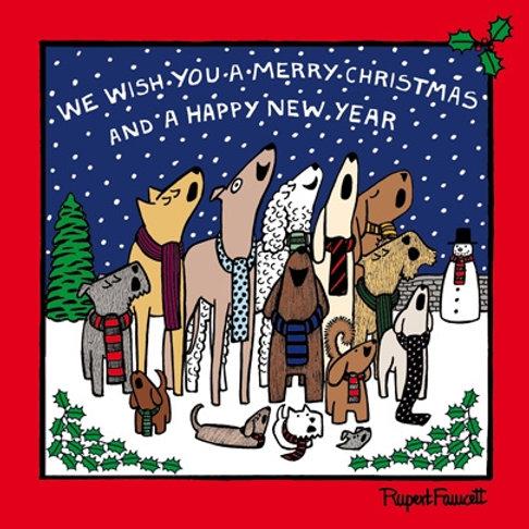 OFF THE LEASH DOG CHOIR CHARITY CHRISTMAS CARD PACK