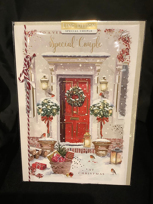To a very special couple (red door)