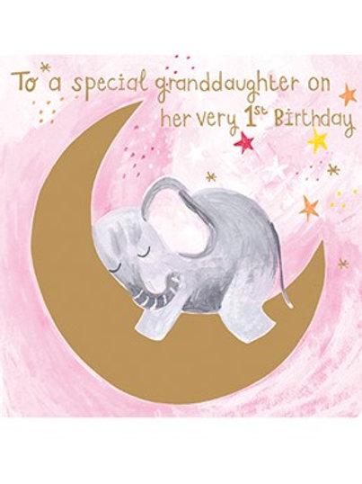 Birthday Granddaughter 1st