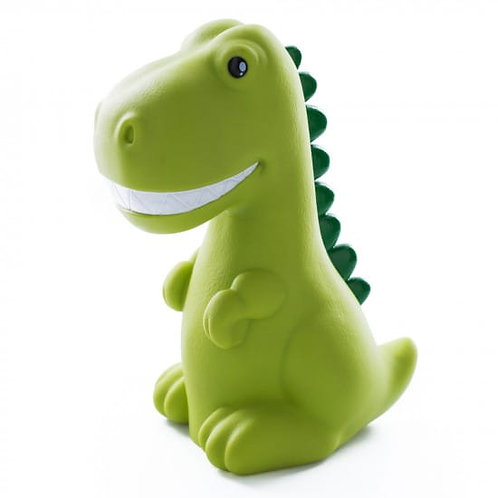 DHINK MEDIUM COLOUR CHANGING LED NIGHT LIGHT | GREEN DINOSAUR WITH WHITE TEETH