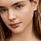 Thumbnail: ESTELLA BARTLETT - Mini Rainbow Drop Earrings Gold Plated