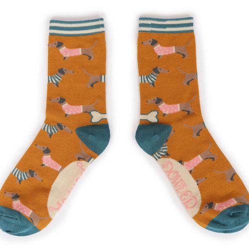 POWDER - Jumper Sausage dog Ankle Sock