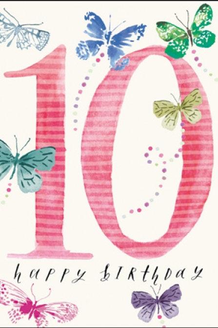 Birthday Age 10