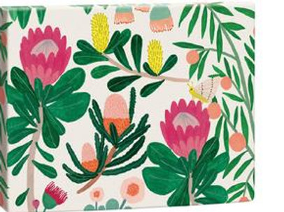 ROGER LA BORDE - King Protea Chic Notecard Box