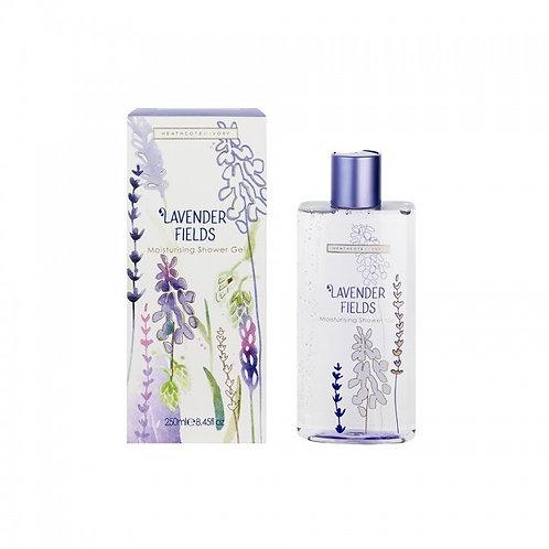 Heathcote & Ivory Lavender Fields Moisturising Shower Gel, 250ml
