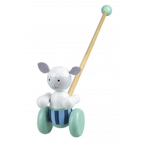 Orange Tree Toys - Push Along Sheep