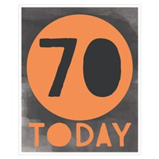Birthday 70th