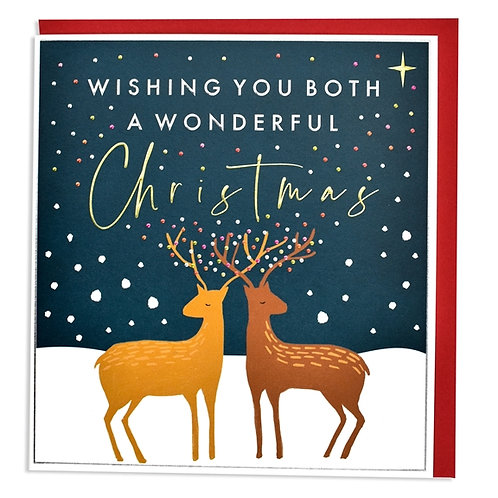 Wishing you both a wonderful christmas