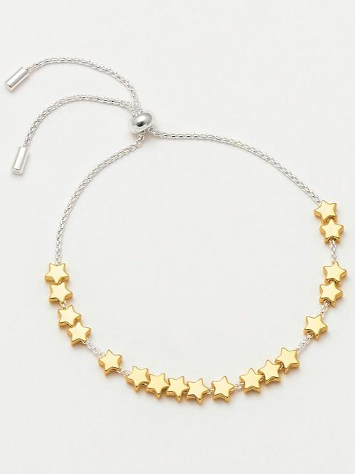 ESTELLA BARTLETT - Stars So Bright Friendship Bracelet Gold Plated