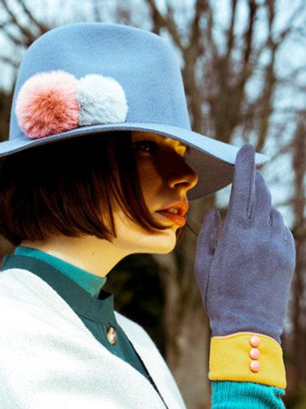 POWDER - Cassie Faux Suede Gloves