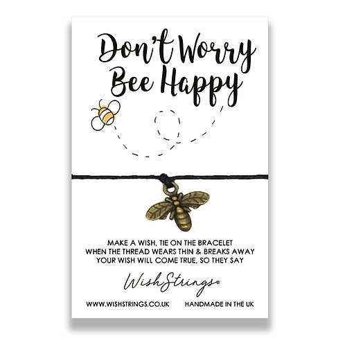 WISH STRINGS - Don't Worry Bee Happy