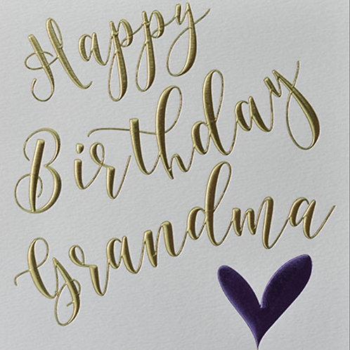 Wendy Jones Blackett - Birthday Nan