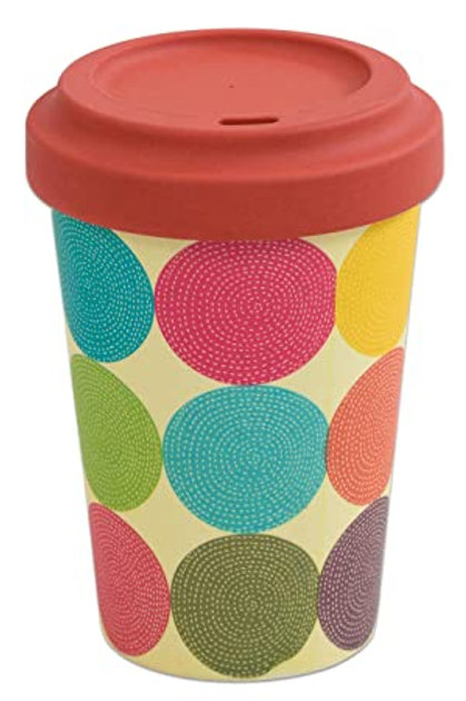 Bamboo Cup Circles 400ml