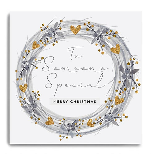 To someone special merry Christmas