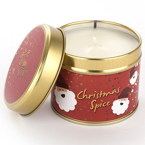 Christmas Spice Tin Candle