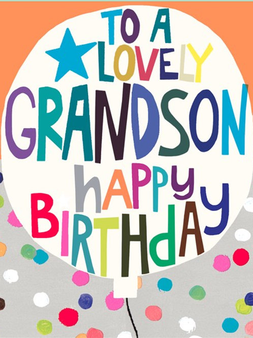 Grandson birthday