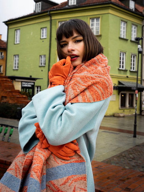 POWDER - Tangerine Tabitha Scarf