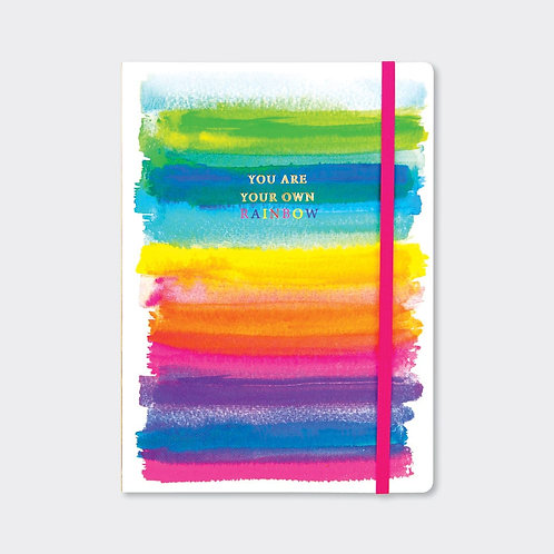 A5 NOTEBOOK ‐ YOU ARE YOUR OWN RAINBOW