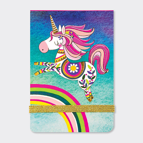 A7 MINI NOTEPADS ‐ UNICORN & RAINBOW