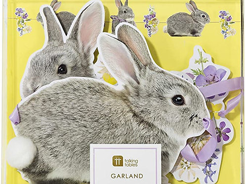 Truly Bunny Garland 3 Metres, Multi-Colour