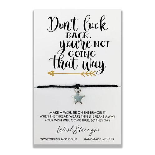 WISH STRINGS - Don't Look Back Bracelet
