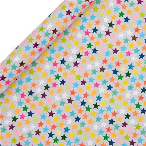 Glick Roll Wrap - Multi Stars