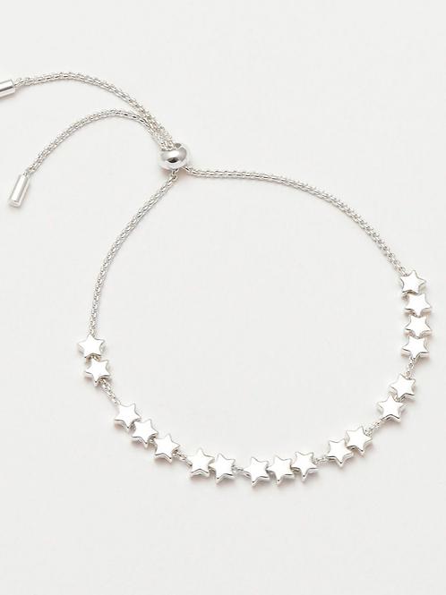 ESTELLA BARTLETT - Stars So Bright Slider Bracelet Silver Plated