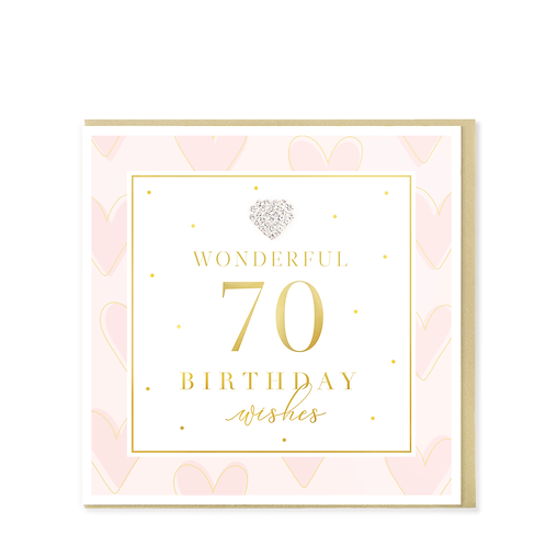 Hearts Designs - Birthday 70th