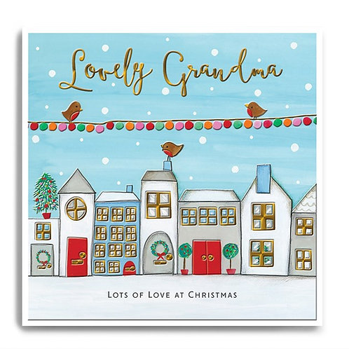 Lovely grandma with lots of love at Christmas