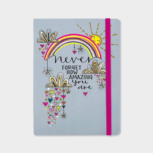Rachel Ellen Never Forget How Amazing You Are Notebook
