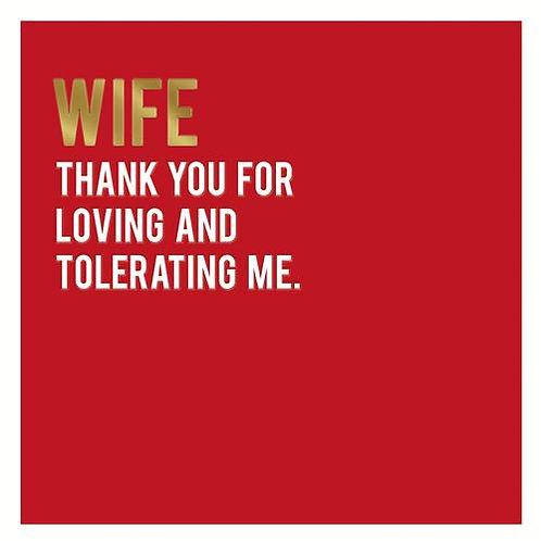 Valentine - Wife