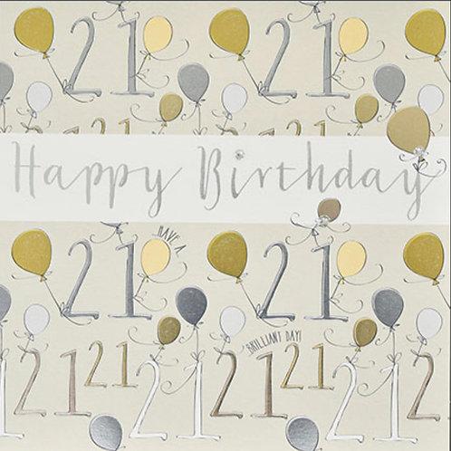 Wendy Jones Blackett - Birthday 21st