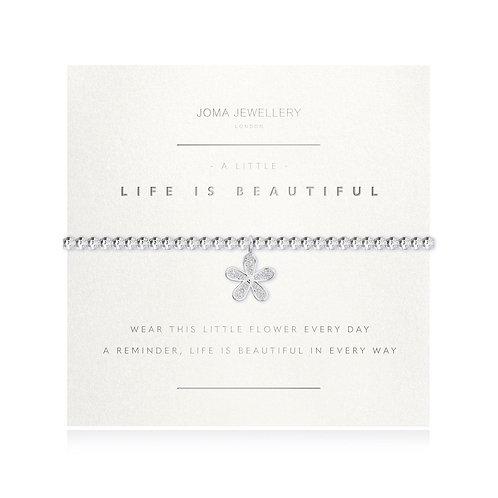 Joma Bracelet Life Is Beautiful