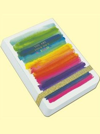 A7 MINI NOTEPADS ‐ YOU ARE YOUR OWN RAINBOW