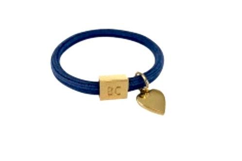 BLACK COLOUR - Poppy 2-in-1 elastic band Denim Blue