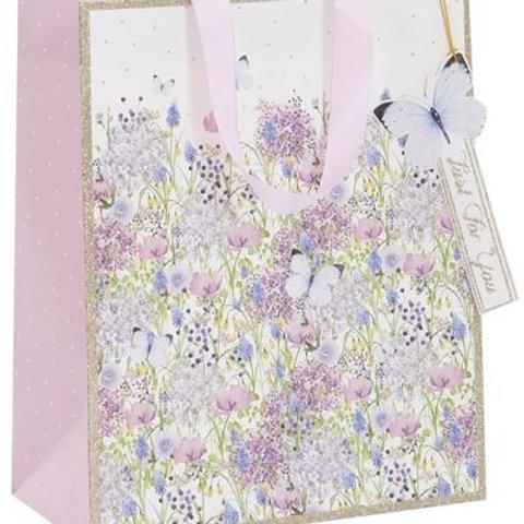 Glick Gift Bag - Lilac Garden Medium