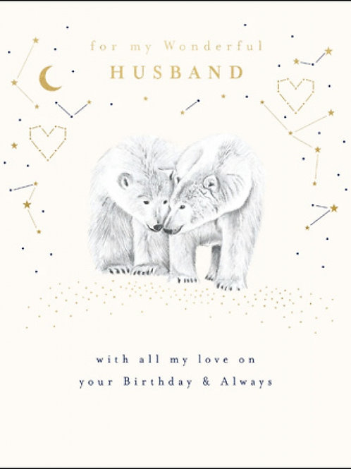 Husband birthday
