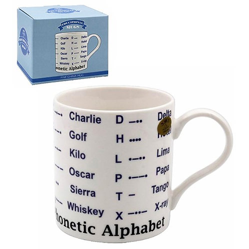 Educational Mug Phonetic Alphabet
