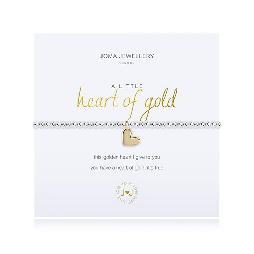 JOMA A Little 'Heart of Gold' Bracelet