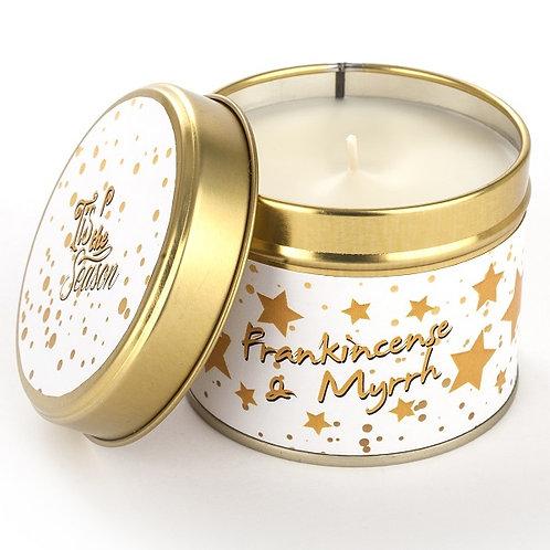 Frankincense & Myrrh Candle