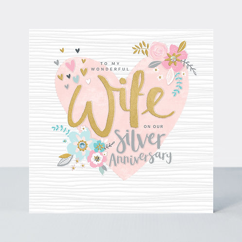 Anniversary - Wife Silver