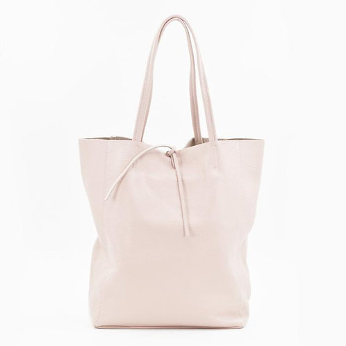 Leather Tote Bag BLUSH