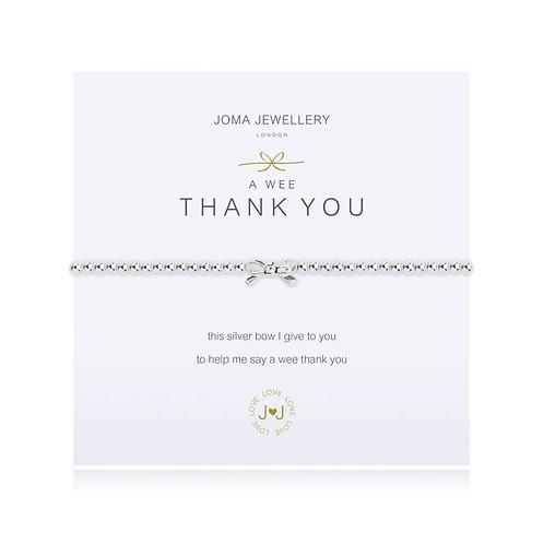 JOMA A Little Thank You Bracelet