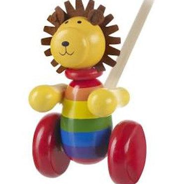 Orange Tree Toys - Lion Push Along