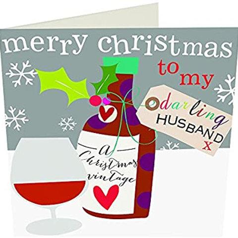 Merry Christmas to my darling husband