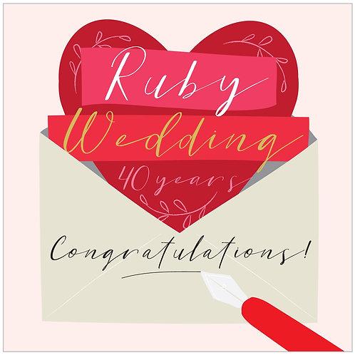 Anniversary - Ruby 40th