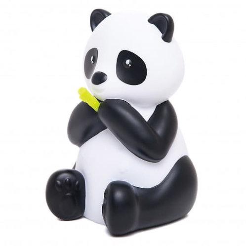 DHINK MEDIUM COLOUR CHANGING LED NIGHT LIGHT | WHITE & BLACK PANDA WITH GREEN BA