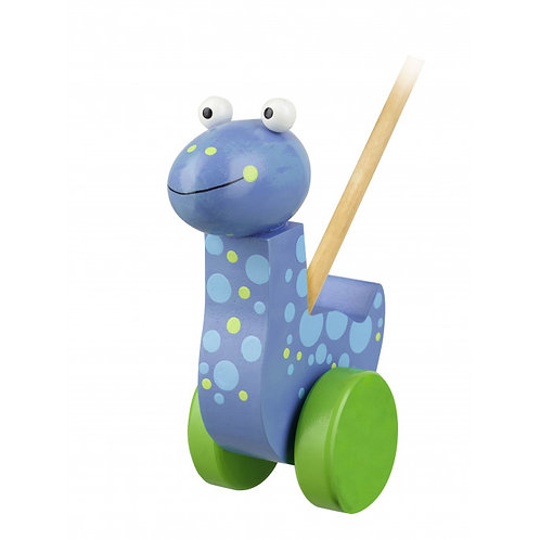 Orange Tree Toys - Push Along Diplodocus